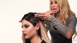 Old Hollywood hairstyle | Hair Tutorial