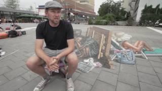 Leon Keer - Interview Street Art Festival 2016