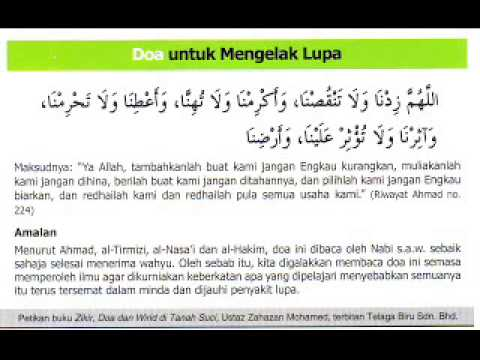 Xxx Mp4 Doa Untuk Mengelak Lupa Idris Shamsuddin 3gp Sex