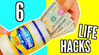 SIMPLE EVERYDAY LIFE HACKS YOU SHOULD KNOW