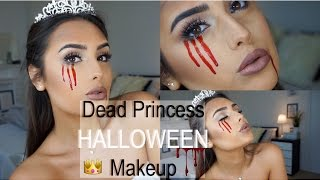Dead Princess HALLOWEEN Makeup Tutorial - EASY