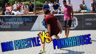 WS3s OPEN SUPERBALL | IRAN FREESTYLE VS PANNAHOUSE SEMI FINAL