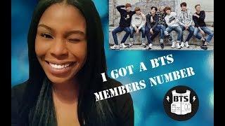 I Got a BTS Members Number