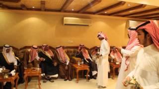 استقبال الشيخ حناش بن جارالله القحطاني لصاحب السمو الملكي الأمير خالد بن طلال بن عبد العزيز آل سعود