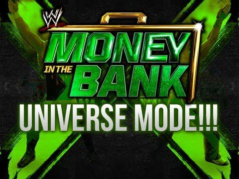 WWE 13 - Universe Mode 3.0 - FULL MITB PPV! (Episode 5)