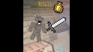 Minecraft RICH #1 Unsinn machen mit Mr.mobielshooter!