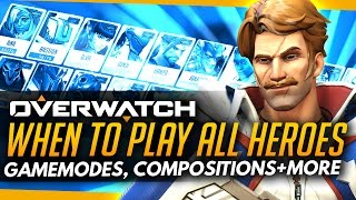 Overwatch | When To Play ALL Heroes