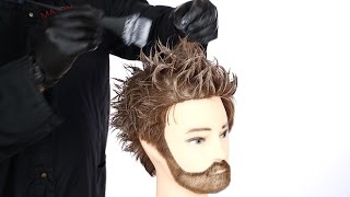 How to Balayage Highlights on Men - TheSalonGuy
