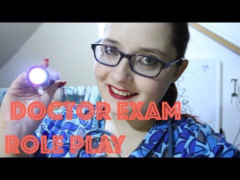 ASMR Doctor Exam Role Play - Annual Check Up