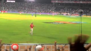 Maxwell having fun on the field ,IPL 2015, KXIP Vs RR