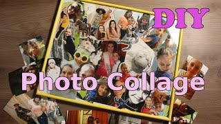 B-day gift    photo collage   DIY