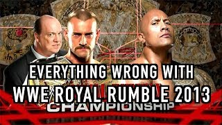 Episode #304: Everything Wrong With WWE Royal Rumble 2013