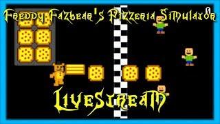 RoxasXIIIkeys plays: FIVE NIGHTS AT FREDDY'S 6?! Freddy Fazbear's Pizzaria Simulator - Part 1