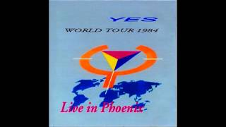 Yes 1984 Phoenix (audio only) pre-broadcast soundboard source