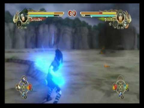 NUNS Black Outfit Sasuke vs Itachi