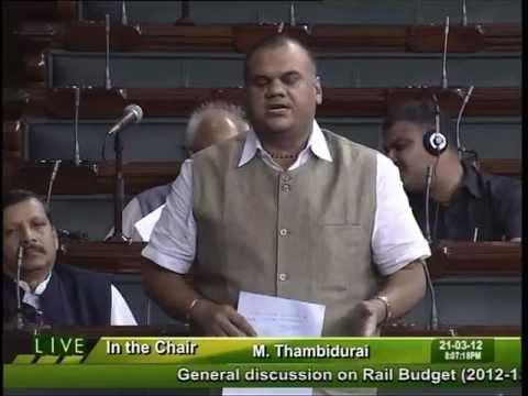 Rail Budget 2012-13: Sh. Devji Mansingram Patel: 21.03.2012