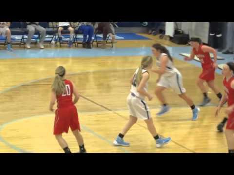Minerva Lions at Louisville Leopards Girls Varsity Basketball Highlights 12 19 2015