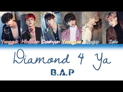 B.A.P (비에이피) - Diamond 4 Ya | Han/Rom/Eng | Color Coded Lyrics |