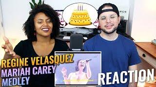 Regine Velasquez - Mariah Carey Medley   Reflections Concert Series   REACTION
