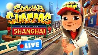 Subway Surfers World Tour 2017 - Shanghai Gameplay Livestream