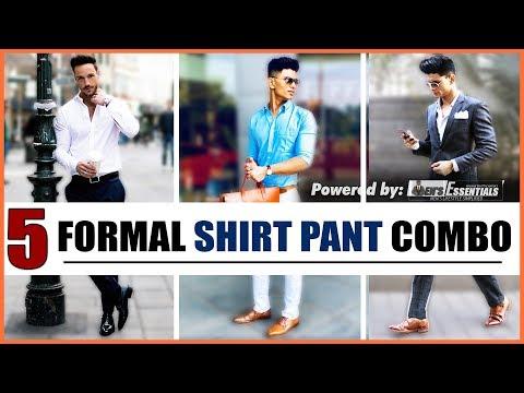 5 Smart FORMAL SHIRT and PANT Combinations Every Man NEEDS | Formal Dress | Mayank Bhattacharya
