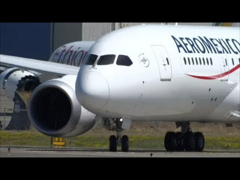 NEW Aeromexico 787 8 First Flight at KPAE