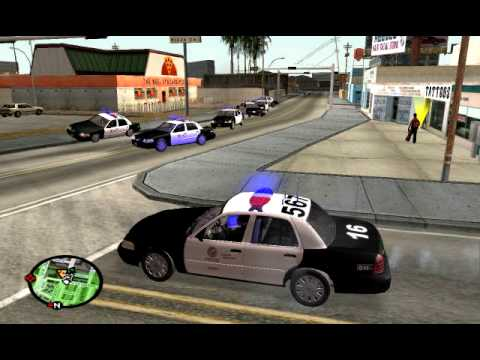 What Would Happen If I Played GTA Like Real LAPD GTA SA