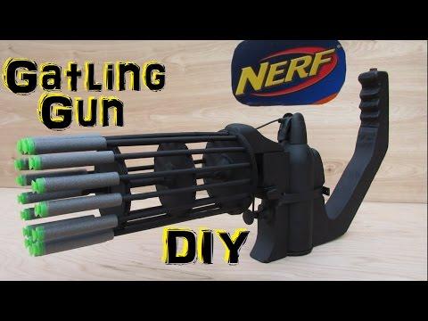 Xxx Mp4 Homemade Nerf Gatling Gun Fully Automatic DIY 3gp Sex