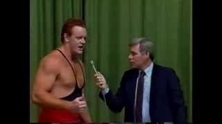 Master Of Pain (Undertaker) DEBUT vs. Rodney Napper 02/12/1989 CWA Memphis
