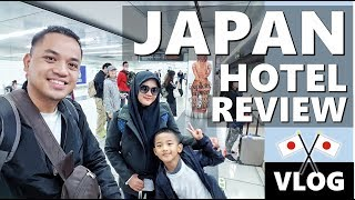 REVIEW HOTEL DI JEPANG | MAHAL DAPAT KAYAK APA? Japan Vlog | Vlog Keluarga | Vlog Indonesia |