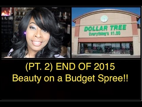 Dollar Tree END 2015 Beauty on a Budget Spree!! | Makeup, Beauty Supplies & Misc Picks!