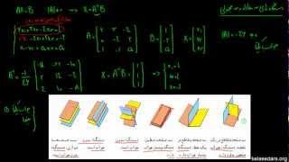 دستگاه معادلات خطی ۰۶ - تعبیر هندسی دستگاه معادلات