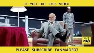Modi as Kabali | Rajinikanth | FANMADe07 NeruppuDa Song Teaser