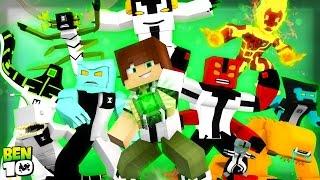 Minecraft: BEN 10 😱 ! - ESCOLHA DA SORTE ‹ Ine ›