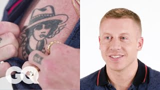 Macklemore Tells the Stories Behind His Favorite Tattoos | Tattoo Tour | GQ