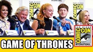 GAME OF THRONES Comic Con 2016 Panel Highlights Part 2 - Sophie Turner, Iwan Rheon, Kristian Nairn