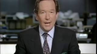 Conservative leadership 1990 BBC, ITN news reports
