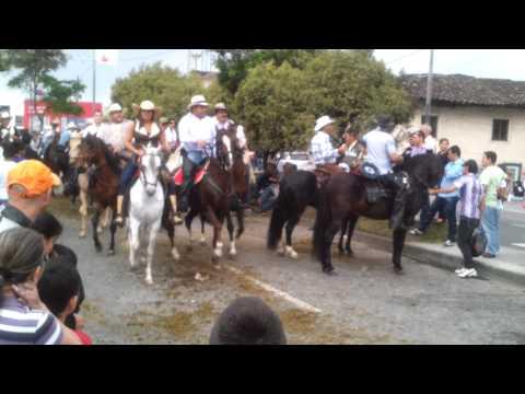 Cabalgata de manizales 2012. Feria de manizales