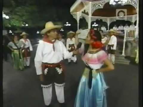 EL CACHITO Y EL RASCAPETATE Ballet Folklorico de la UNACH