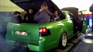 Chevrolet Lumina UTE on dyno - 670kW  |  1069Nm