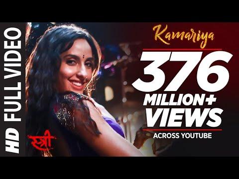 Full Video: Kamariya   STREE   Nora Fatehi   Rajkummar Rao   Aastha Gill, Divya Kumar  Sachin- Jigar