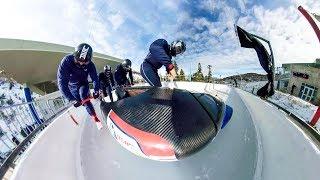 GoPro Fusion: Bobsled Run in Full 360 VR