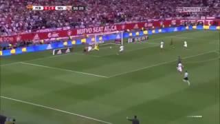#اهداف برشلونة و اشبيلية 2-0 نهائي كأس الملك 2016/5/22