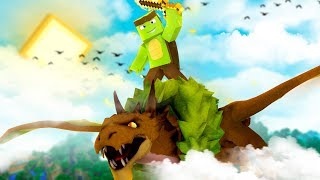 CAN WE SAVE THE BABY FOREST DRAGONS? - Minecraft Dragons S2