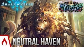 [Shadowverse] Defenders of the Earth - Neutral Lion Havencraft Deck Gameplay