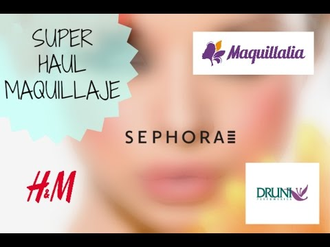Xxx Mp4 Super Haul De Maquillaje Maquillalia Druni HyM Y Shepora 3gp Sex