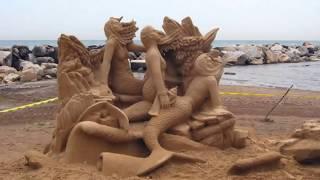 30 Most Amazing Sand Art & Sculptures 2016