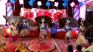 3 kishan 3 radha jhanki by Lovely & Party // Jagran , Mata ki Chowki 9990221612 , 8447012449