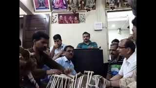 Sri. Sudhir Nayak - solo on Leg Harmonium