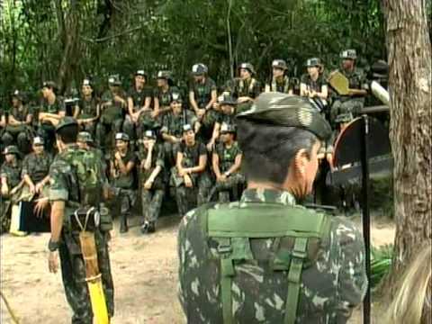 treinamento 53 BIS mulheres militares. edição EDSON DHIAS